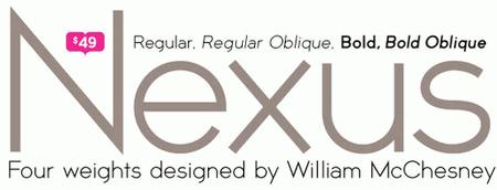 Professional Typefaces - Nox