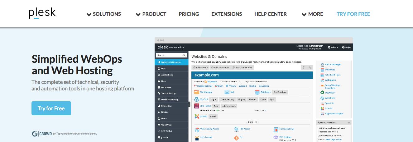 Plesk VPS Hosting For Better Website Outcomes
