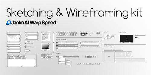 50 free ui and web design wireframing kits resources and source files smashing magazine. Black Bedroom Furniture Sets. Home Design Ideas