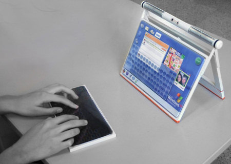 Laptop Designs - The Siafu concept notebook