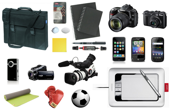 Some useful items needed for the designers cross-training toolkit