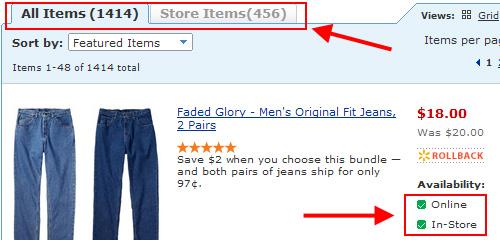 Walmart In-Store & Online