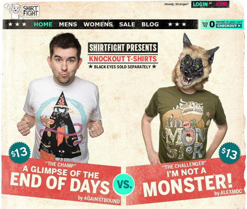 T-Shirts Showcase - Shirt Fight t-shirts