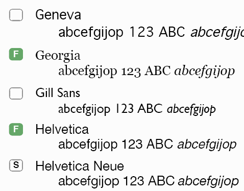 Arial rounded font family