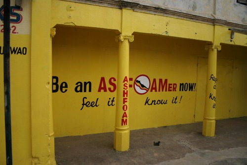 Wayfinding and Typographic Signs - be-an-assfoamer-now