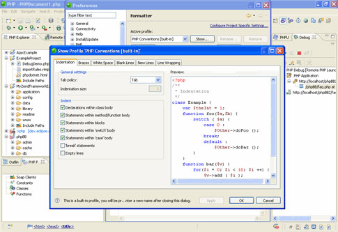 Zend Studio - Screenshot