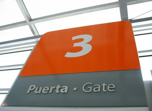 Wayfinding and Typographic Signs - waiting-at-gate-3