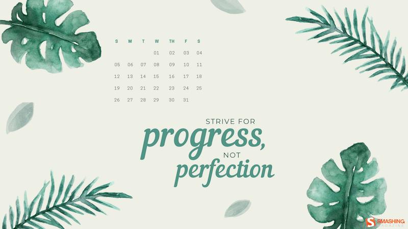 Viser le progrès, pas la perfection