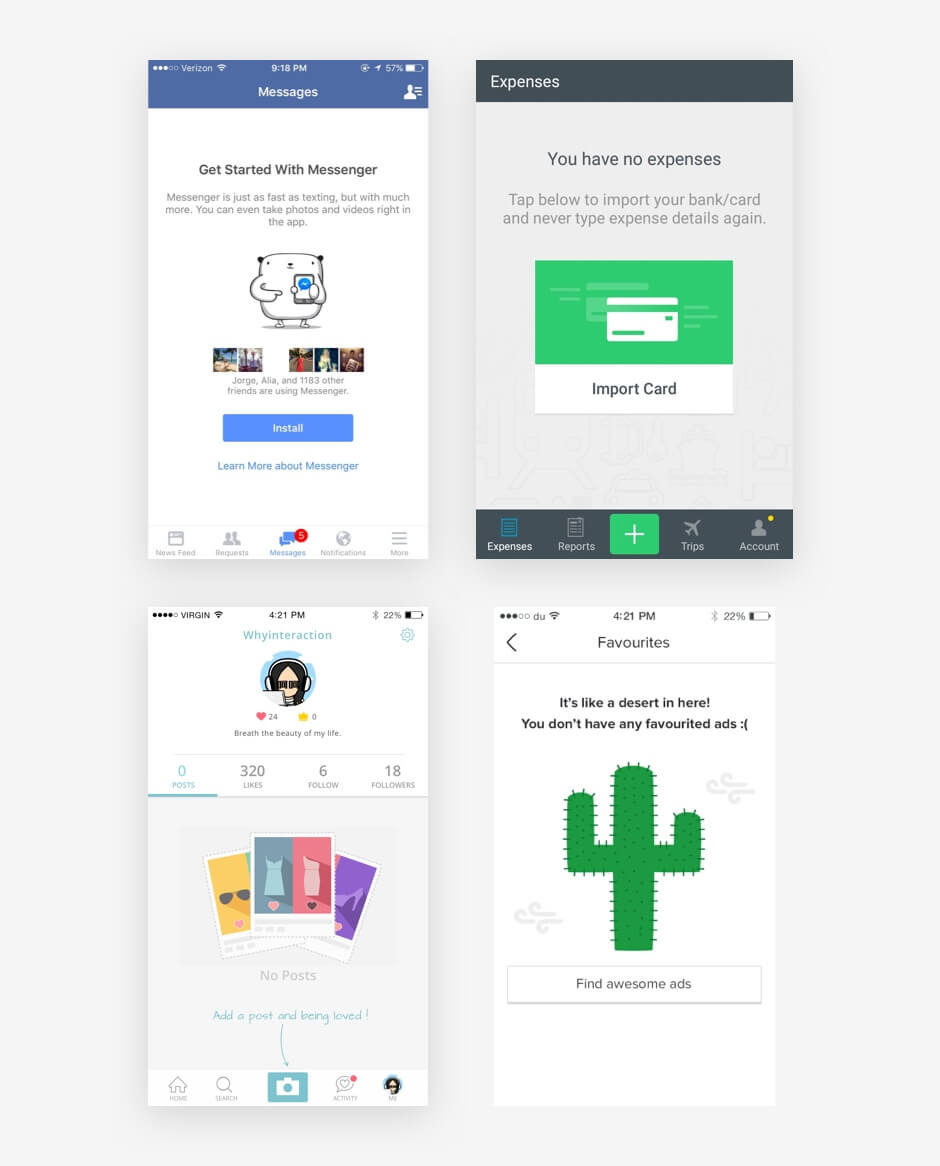 Designing App A Roadmap To Building A Delightful Onboarding Experience List Design In Mobile