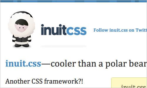 inuit.css—cooler than a polar bear's toenails…