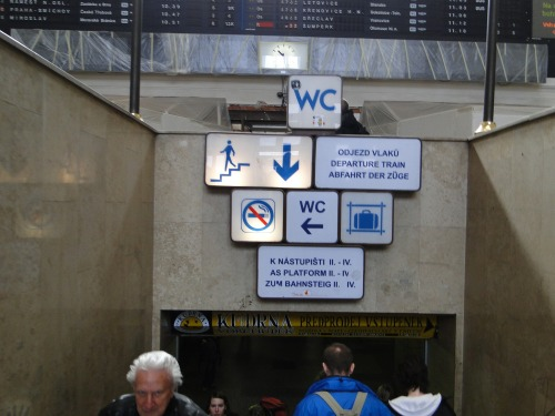 Wayfinding and Typographic Signs - where-exactly-is-wc