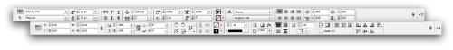 InDesign's Text Contextual Bars