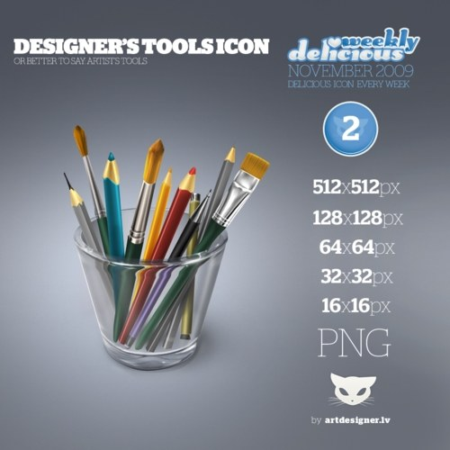 Free High Quality Icon Sets - Designer's tools icon - WD2