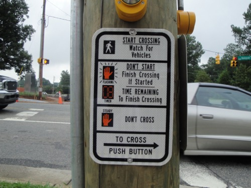 Wayfinding and Typographic Signs - learning-to-cross