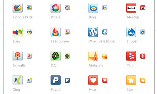 Update: Social Media Icons