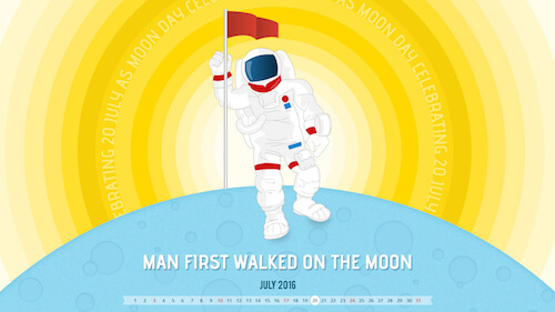 Man First Walked On The Moon