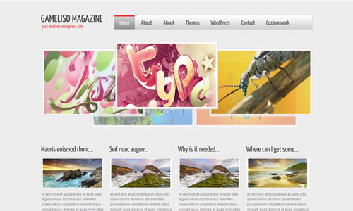 Gameliso Free WP Theme
