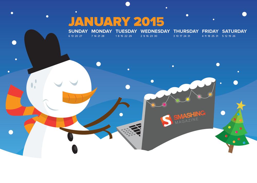 Desktop Wallpaper Calendars: January 2013
