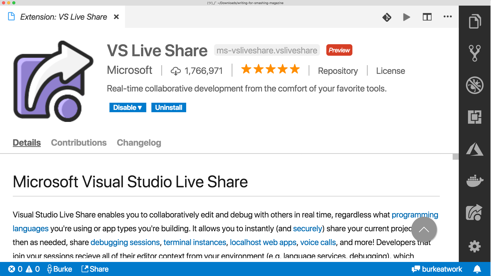 Visual Studio Live Share Can Do That? — Smashing Magazine