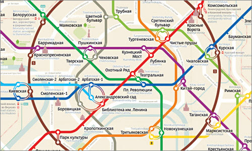The making of the Moscow Metro Map 2.0