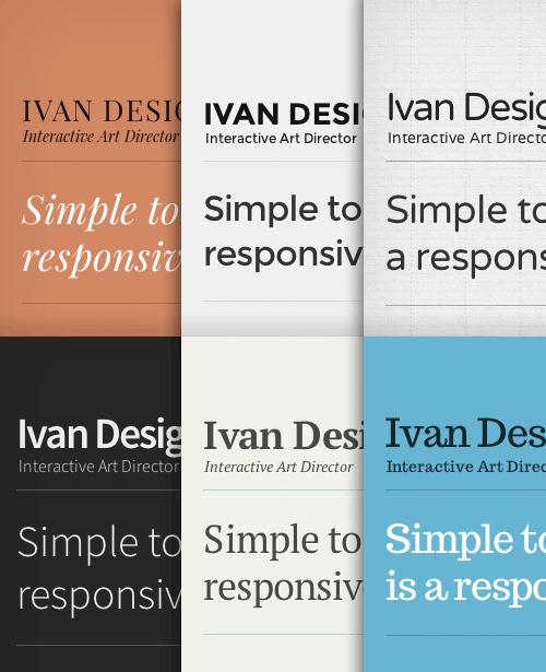 type grids free responsive html5 template smashing magazine