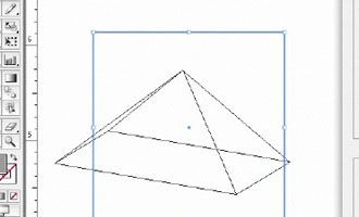 Create 3D Pyramid - screen shot.