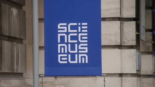 Wayfinding and Typographic Signs - science-museum-london-logo