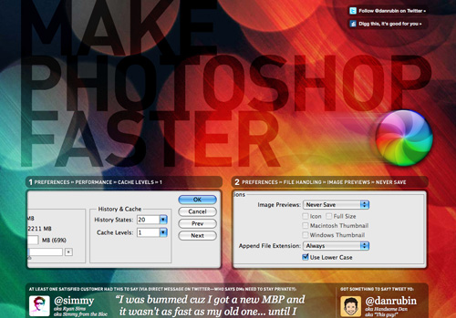 Make Photoshop Faster on Firefox