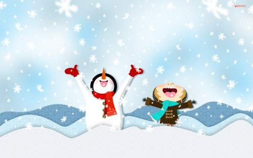 cute winter wallpapers free