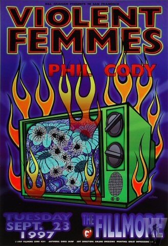 Violent Femmes by Chris Shaw