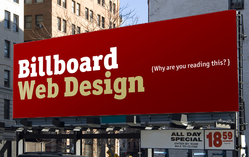 Billboard Web Design: How To Win Your Audience\'s Attention ...
