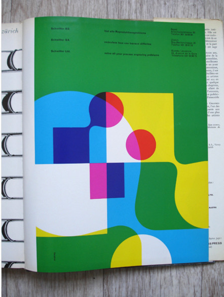 Vintage and Retro - Graphis Annual - 1965/66