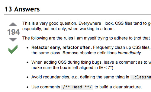 How to Manage CSS Explosion