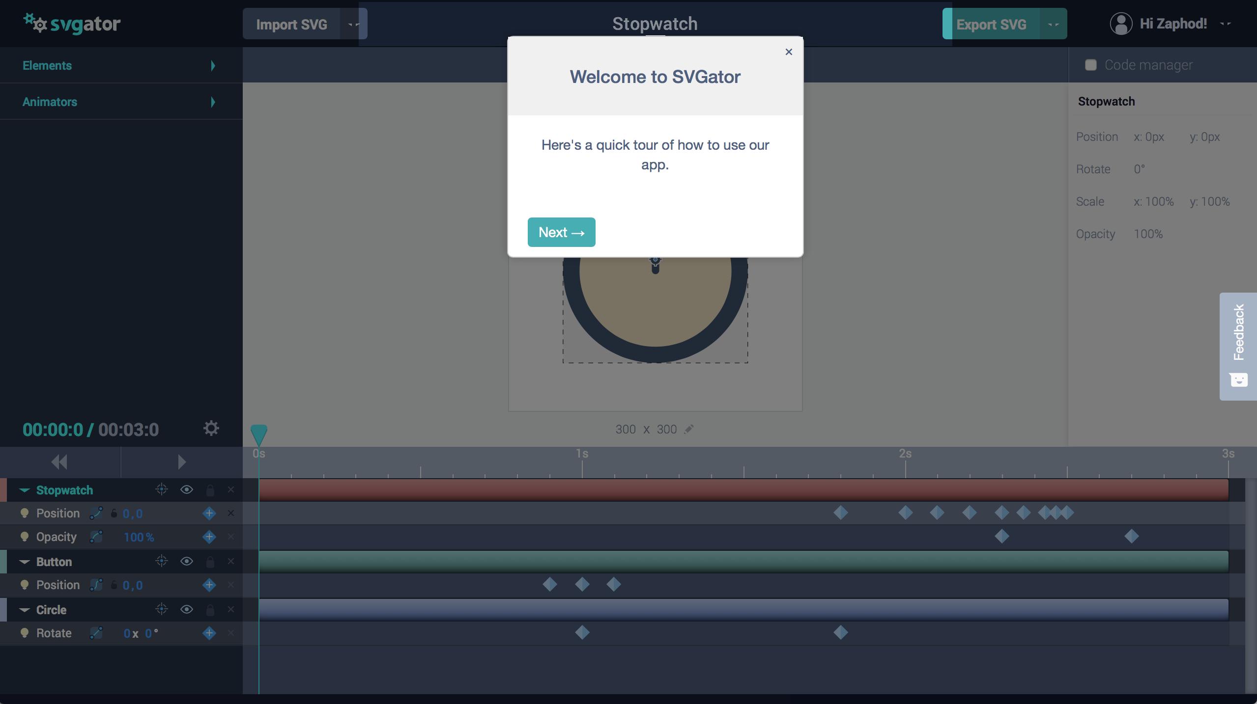 Animating SVG Files With SVGator — Smashing Magazine