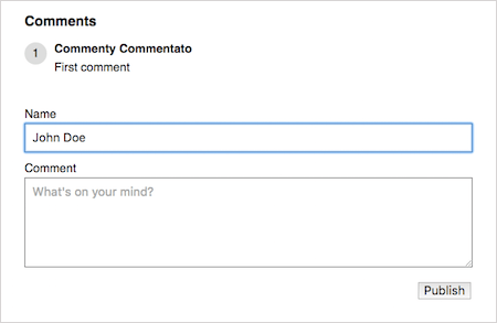 A Guide To Progressively Enhancing A Comment Form