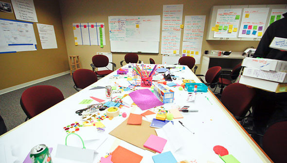 The Organized Chaos Of A Kickoff Meeting.