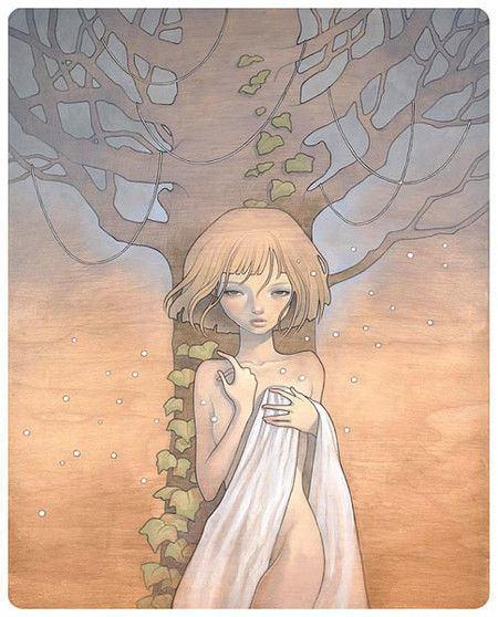 Showcase of Feminine Illustrations - Audrey Kawasaki