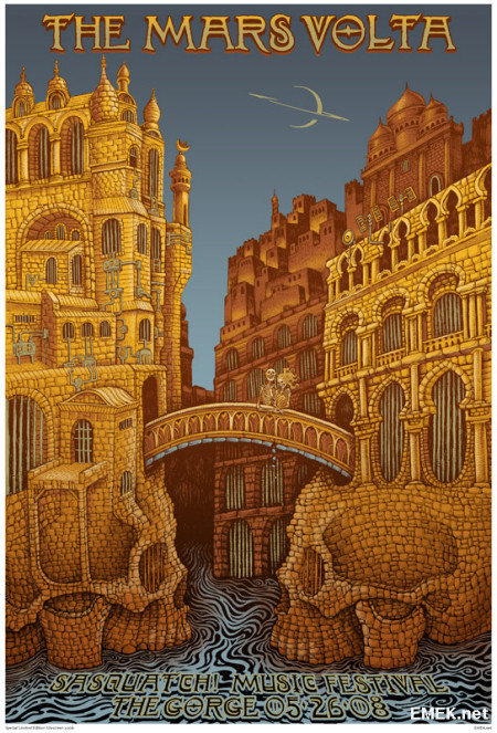The Mars Volta by Emek