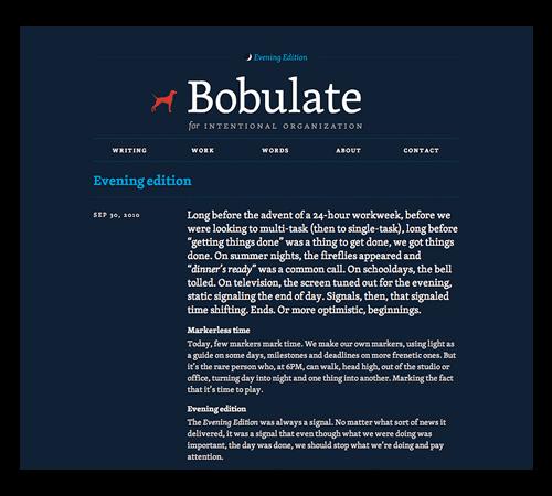 Bobulate
