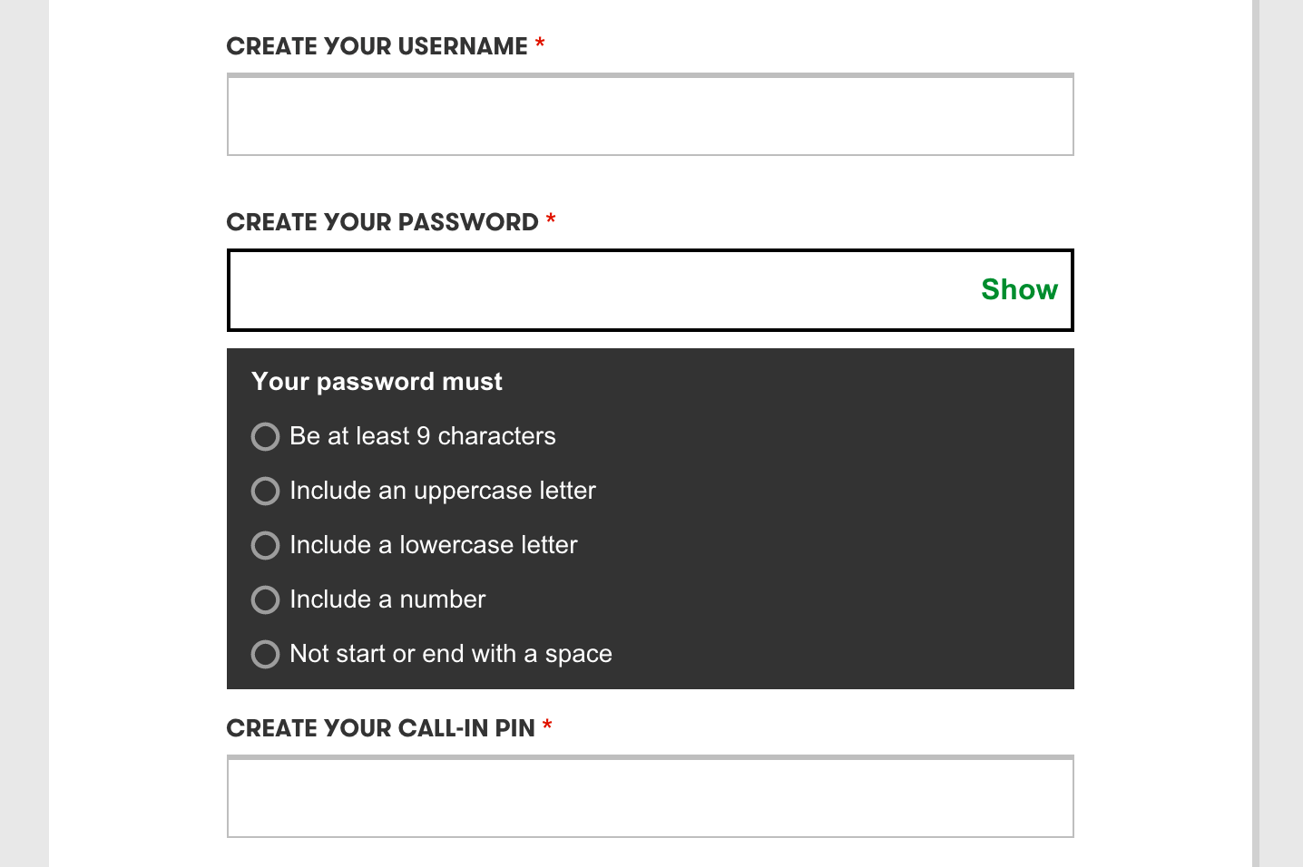 The Current State Of Authentication: We Have A Password