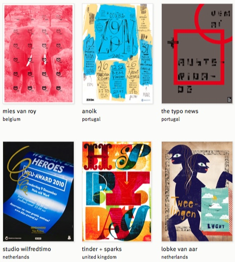 Showcase Of Typographic Posters