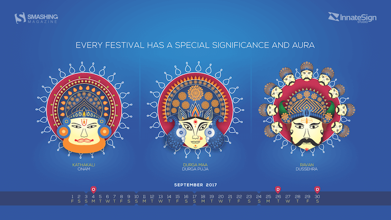 September Festivals In India