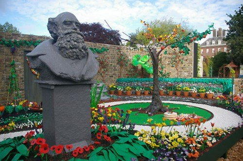 James May's Plasticine Garden in Plasticine Art Showcase