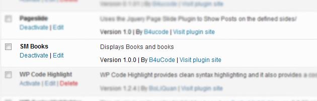 Book Plugin