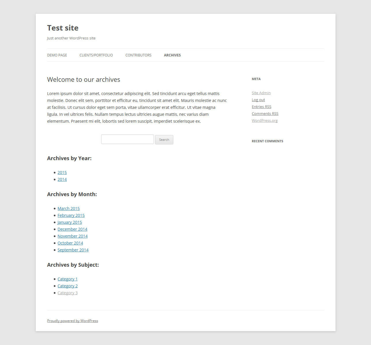 wordpress single post page template.html