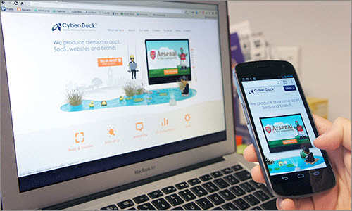 Cyber-Duck: Adapting To A Responsive Design
