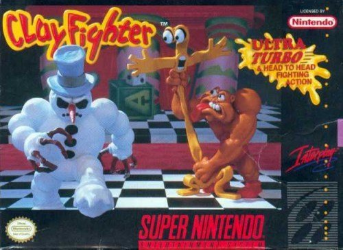 ClayFighter in Plasticine Art Showcase