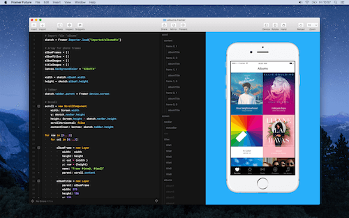 Use Framer, for animations and micro-interactions