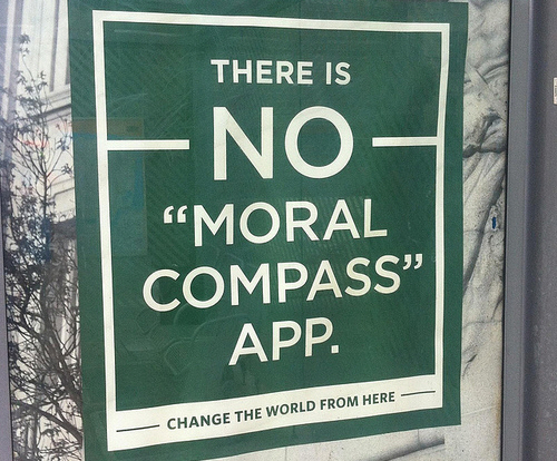 There is no Moral Compass App