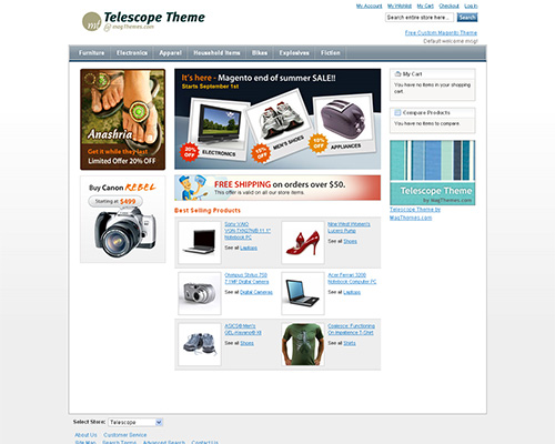 25 magento templates for your ecommerce business